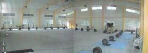 The main training hall