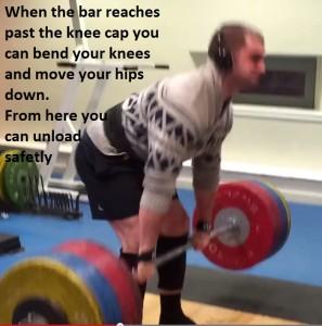 finish lowering
