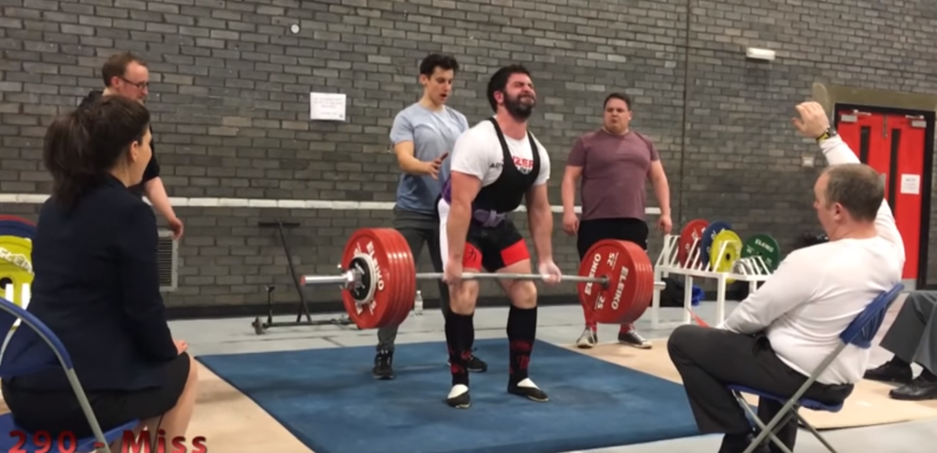 deadlift cast iron strength the conditions in the competition were far from ideal due to logistical problems needing to be out of the venue for a certain time the second group of